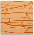 rug #1301395   square red-orange popular rug