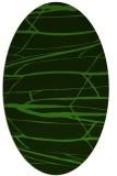 rug #1301627 | oval light-green popular rug