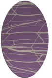 rug #1301671   oval purple natural rug