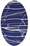 rug #1301783 | oval white natural rug