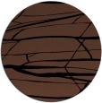 rug #1302235 | round black natural rug