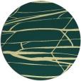 rug #1302555 | round blue-green rug