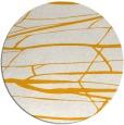 rug #1302575 | round light-orange natural rug
