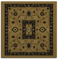 rug #1302975 | square mid-brown traditional rug
