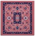 rug #1303047 | square blue-violet traditional rug