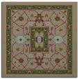 rug #1303067   square brown borders rug
