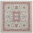 rug #1303079 | square pink borders rug