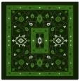 rug #1303099 | square light-green borders rug