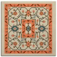 rug #1303175 | square beige traditional rug