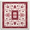 rug #1303187 | square pink borders rug