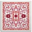 rug #1303195 | square pink borders rug