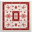 rug #1303223   square red borders rug