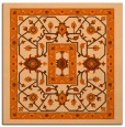 rug #1303235 | square red-orange traditional rug