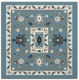 rug #1303267 | square blue-green traditional rug