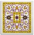 rug #1303283 | square yellow borders rug