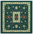 rug #1303291 | square yellow traditional rug