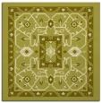 rug #1303295 | square light-green borders rug