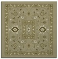 rug #1303299 | square light-green borders rug