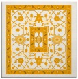 rug #1303311 | square light-orange borders rug