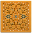 rug #1303315 | square light-orange borders rug
