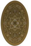 rug #1303345 | oval traditional rug