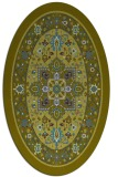 rug #1303401 | oval borders rug