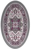 rug #1303516 | oval borders rug