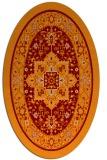 rug #1303538 | oval borders rug