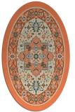 rug #1303544 | oval borders rug