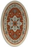 rug #1303545 | oval borders rug