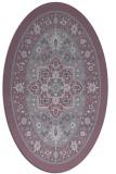 rug #1303582 | oval borders rug