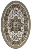 rug #1303639 | oval white popular rug