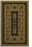rug #1303711 |  mid-brown borders rug
