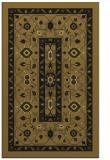 rug #1303711 |  black traditional rug