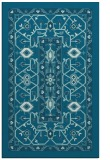 rug #1303743 |  blue-green borders rug