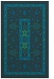 rug #1303755    blue-green borders rug