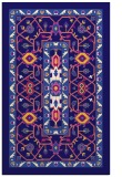 rug #1303791 |  blue-violet traditional rug