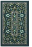 rug #1303823 |  green borders rug