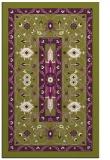 rug #1303939 |  green traditional rug