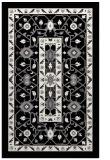 rug #1303983 |  black borders rug