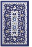 rug #1303991 |  blue borders rug