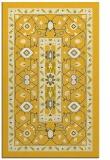 rug #1304011 |  yellow traditional rug