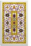 rug #1304019 |  yellow borders rug