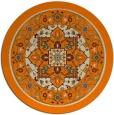 rug #1304059 | round beige borders rug