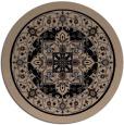 rug #1304071   round beige traditional rug