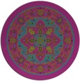 rug #1304139   round pink traditional rug