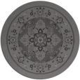 rug #1304215 | round brown borders rug