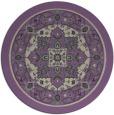 rug #1304247 | round purple traditional rug