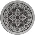 rug #1304283 | round orange borders rug