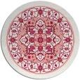 rug #1304299 | round pink borders rug